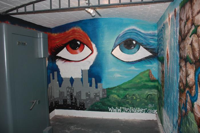 Arts Bank Mural/Exhibition