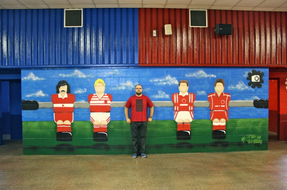 Middlesbrough FC Graffiti / Family Zone – Inside